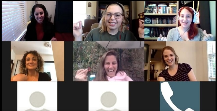 Remote team building activities are fun, too.